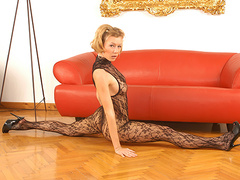 Reka erotically strips