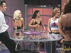 Awesome hottie Puma Swede plays hard fucking poker