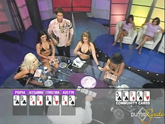 Horny babe Puma Swede first plays hardcore poker