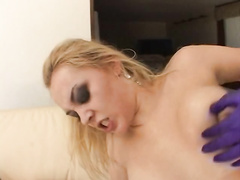 Hot BBW Annette Schwarz tortured in her dirty ass