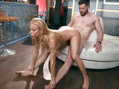 Full-bosomed mom Alexis Fawx receives pleasure from cock riding