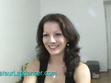 Natural czech brunette lapdancing for money