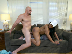 Big ass Moriah Mills gets pounded doggy style by Jmac
