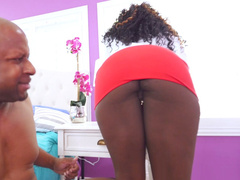 Vickie Starxxx getting her ass licked by Prince