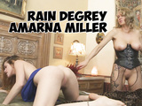 Rain Degrey punishing Amarna Miller