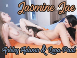 Lena Paul & Ashley Adams and Jasmine Jae - Jealous ex-student and their hot teacher