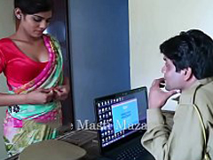 Hot Indian short films - Young Indian Bhabhi Seduced By A Police Man (new)