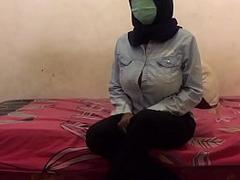 Big Tit Hijab Student