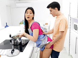 Cooking With Katana Starring Katana and Jordi - Reality Kings HD