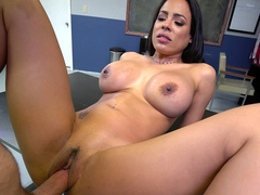 New secretary Luna Star gets fucked first day on the job