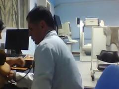 Doctor Examine Arab Housewife Boobs