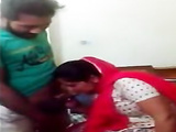 Paki Aunty sucking young boy cook