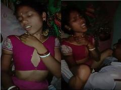 Blue Saree Trisha Bhabhi fucking Devarji Hot with cumshot