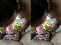 Today Exclusive- Tamil Wife Sucking Hubby Dick