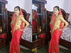 Today Exclusive- Desi Newly Married Couple Romance And Fuck Part 6
