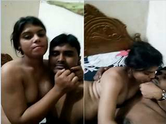 Today Exclusive- Horny Desi Couple Romance and Sex Part 2