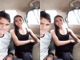 Today Exclusive- Super Cute look Desi Girl hard Fucked by Bf In Car