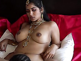 Awesome reverse position blowjob from Desi wifey