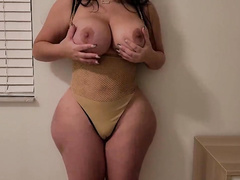 Getting seduced by my girlfriend's slutty thick MILF XXX mom