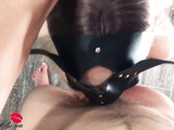 Sexy Bunny Sensual Blowjob and Hard Riding Big Dick Husband -POV