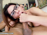 Busty hottie Alexa licked and fucked hard by dude